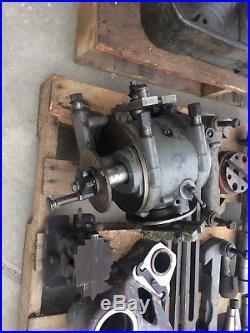 Brown Sharpe # 2 Universal Horizontal Vertical Milling Machine Lots Of Tooling