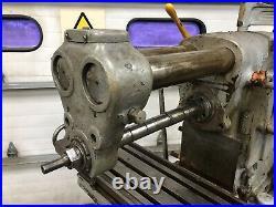 Brown Sharpe #2 plain light type 10x45 horizontal vertical milling machine