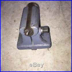 Burke 6 Dividing/Indexing head with tailstock