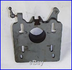 CLAUSING 8520 MILLING MACHINE MOTOR MOUNT BASE PLATE CLAUSING MILL 8525 8530