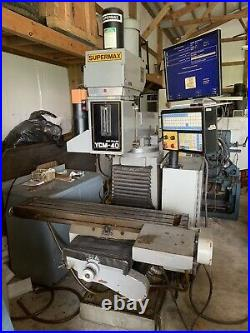 CNC Milling Machine Supermax YCM 40 with Centroid CNC Control