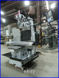 Centroid M-400 CNC Control on an Acra DM-4VS Bed Type Vertical Milling Machine