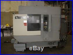 Chiron FZ-12WV CNC Mill Funuc 21I Twin Pallet, Video