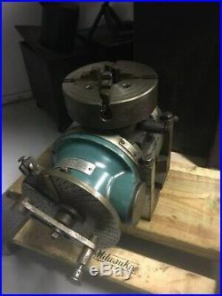 Cincinnati Universal Dividing Head 4 Jaw Chuck Milling Machine