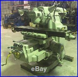 Cincinnati Universal Milling Machine Horizontal/Vertical
