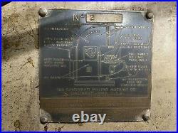 Cincinnati horizontal milling machine