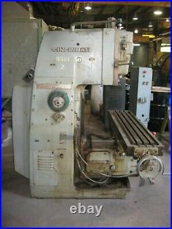 Cincinnati vertical milling machine