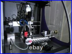 Cnc 4 Axis Milling Engraver Machine & Kavo Spindle Motor System