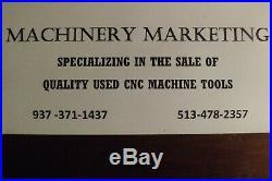 Cnc Haas Vf-3 Vertical Maching Center 40 X, 20 Y, 25 Z Cat 40 7500 RPM 15hp