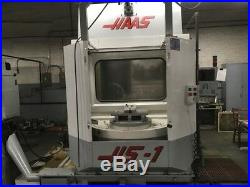 Cnc Horizontal Machining Center Haas Hs-1 12,000 RPM 2 Pallet 20 HP Cat 40