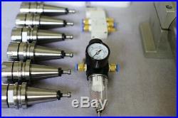 Combo ATC tool change spindle motor BT30 5.5kw 18k rpm + VFD + NBT30 +