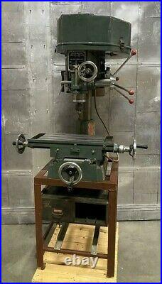 Complex Cut King Milling & Drilling Machine CK-30 Single Phase 2HP Vertical Mill