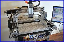 Custom Parker 404XR CNC Precision Linear Actuator with Ballscrew Mach3 GeckoDrive
