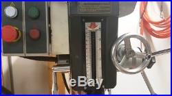 DAYTON 2LKP9 Mill Drill Machine, 16 in. Swing, 240V/120V 60Hz