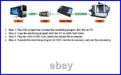 DNC TITAN Replace computer transmits the program G code to the CNC machine