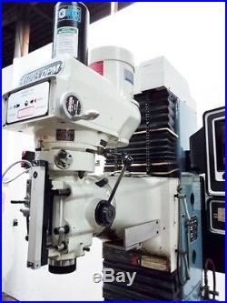 DPM S. W. I. TRAK Three-Axis CNC Vertical Bed Mill MILLING MACHINE BRIDGEPORT