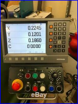 Deckel FP2 mill, Universal Table, Heidenhain 6 axis DRO, excellent condition