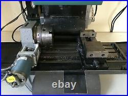 Denford Triac 4 Axis CNC Mill