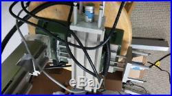 Desktop CNC mill with 20,000 RPM 8mm Endmill