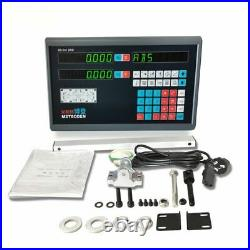 Digital LCD2 &3 Axis Milling Machine With CNC DRO Linear Scale Lathe Machine