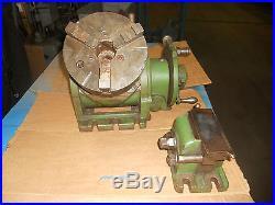 Dividing Head from Kearney & Trecker #2 Horizontal Milling Machine, 3 Jaw Chuck