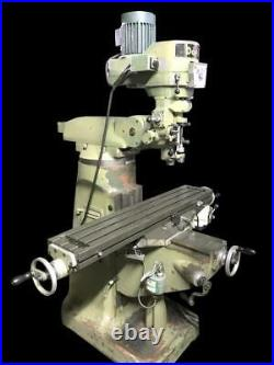 DoALL Variable Speed Vertical Mill Milling Machine Power Feed 54 X 9 Table