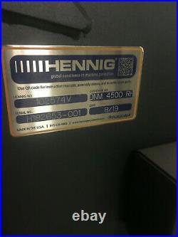 Doosan DNM 4500 VMC, 2019 TSC, Renishaw, 4th Axis, 12,000rpm, 30ATC