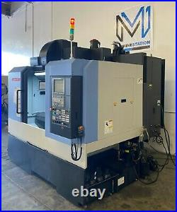 Doosan Dnm-400ii Vertical Machining Center Cnc MILL Tsc Probe 8000 RPM 2014