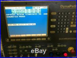 Dynapath #750 Cnc Vertical MILL