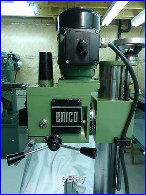 emco maximat 11 lathe mill drilling machine