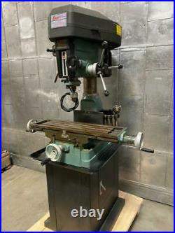 ENCO Model 105 1110 Milling & Drilling Machine 2HP 1 Phase Vertical Mill R8