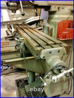 ENCO VERTICAL MILLING MACHINE, 10x54 (I4495-118)