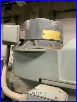 EXCELLO RAM TURRET VERTICAL MILLING MACHINE #602 withR8 SPINDLE & 9x48 TABLE