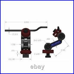 Edge Technology Multi Axis Hardened Stop Rod with 1/2-13 socket head cap
