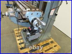 Enco 100-1527 2HP 220V 3Ph 9 x 42 Multi Speed Knee End Mill Machine See Info