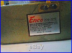 Enco 8 Rotary Table Model 1042