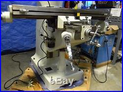 Enco 9 x 49 Knee Mill Milling Machine with Variable Speed Pulley & DRO 220V 3PH