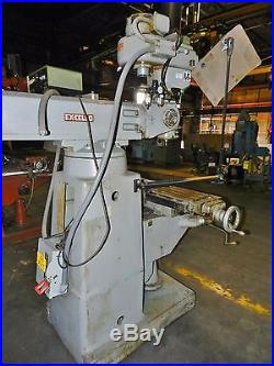 Ex-Cell-O 9 x 36 Vertical Milling Machine with DRO