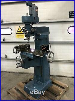 Exactus 7x30 Knee Milling Machine 110volt r8 Small Bridgeport type Made in USA