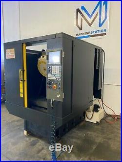 FANUC ROBODRILL MATE CNC DRILL TAP VERTICAL MACHINING CENTER VMC 0i-MC 2008