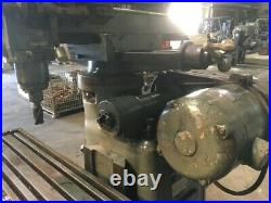 FRAY ALL ANGLE MILLING MACHINE With HORIZONTAL & VERTICAL SPINDLES
