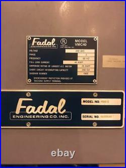 Fadal 904 L VMC 40 CNC Vertical Milling Machine Machining Center Free Loading