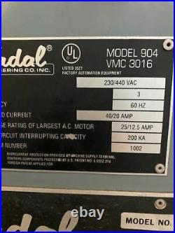 Fadal VMC 3016, 1994 4th Axis, Under Power, Inspection Ready