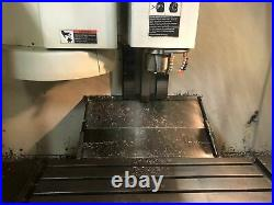 Fadal VMC 4020HT, 1995 Under Power, 10k RPM Spindle, Video