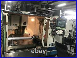 Fadal VMC 4020HT, 2001 4th Axis Rotary Table, 10k RPM, Video, Under Power