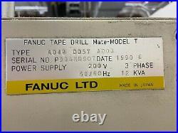 Fanuc Tape Drill Mate-Model T