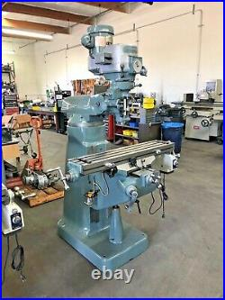 Fully Rebuilt Bridgeport Milling Machine 9 X 42
