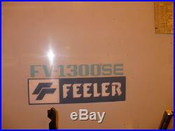 Fv-1300se Feeler 4-axis Cnc Vertical Machining Center #26554