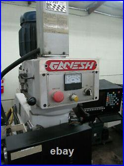 GANESH / ACRA 3-AXIS CNC KNEE MILL 10x54 Table with Sony Control
