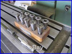 gorton milling machine collets